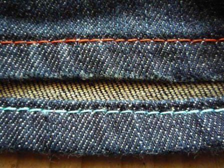 シングルステッチ・本縫仕上げ【持ち込みジーンズ・ジーパン/パンツ/ズボン/ボトムの裾上げ・裾直し・丈直し】